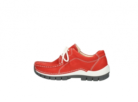 wolky chaussures a lacets 04705 kick summer 10500 nubuck rouge_2