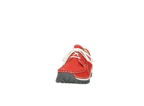 wolky chaussures a lacets 04705 kick summer 10500 nubuck rouge_20