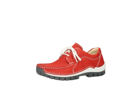 wolky chaussures a lacets 04705 kick summer 10500 nubuck rouge_23