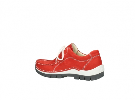 wolky chaussures a lacets 04705 kick summer 10500 nubuck rouge_3