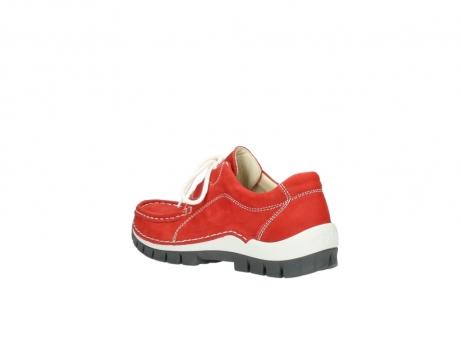 wolky chaussures a lacets 04705 kick summer 10500 nubuck rouge_4