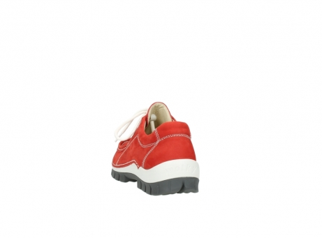 wolky chaussures a lacets 04705 kick summer 10500 nubuck rouge_6
