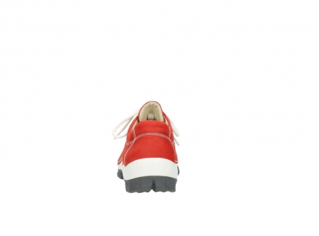 wolky chaussures a lacets 04705 kick summer 10500 nubuck rouge_7