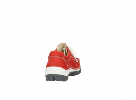wolky chaussures a lacets 04705 kick summer 10500 nubuck rouge_8