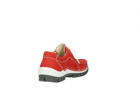 wolky chaussures a lacets 04705 kick summer 10500 nubuck rouge_9