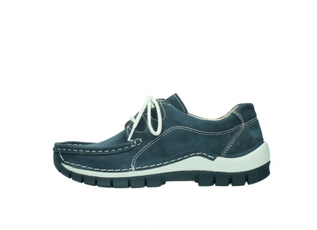wolky veterschoenen 04705 kick summer 10820 denim blauw nubuck_1