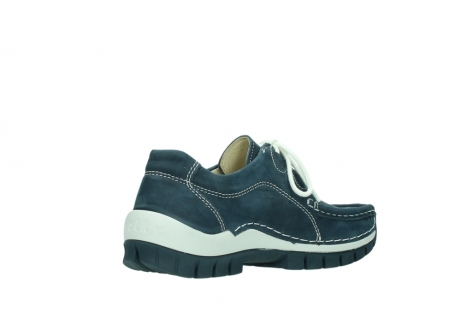 wolky veterschoenen 04705 kick summer 10820 denim blauw nubuck_10