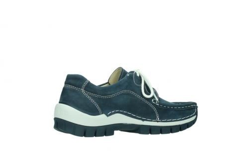 wolky veterschoenen 04705 kick summer 10820 denim blauw nubuck_11