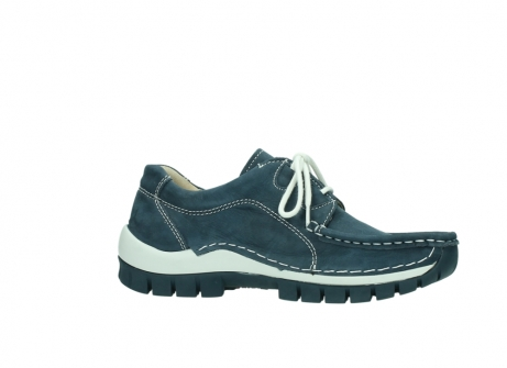 wolky veterschoenen 04705 kick summer 10820 denim blauw nubuck_14