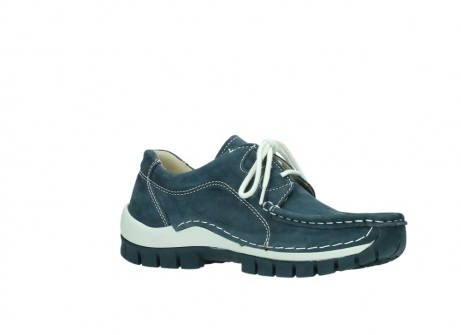 wolky veterschoenen 04705 kick summer 10820 denim blauw nubuck_15
