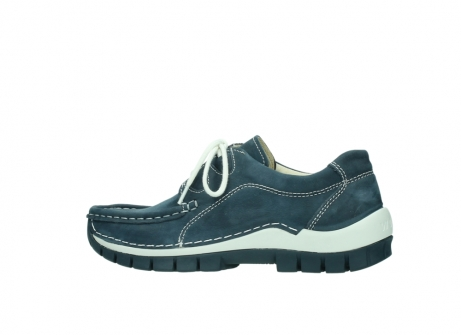 wolky veterschoenen 04705 kick summer 10820 denim blauw nubuck_2