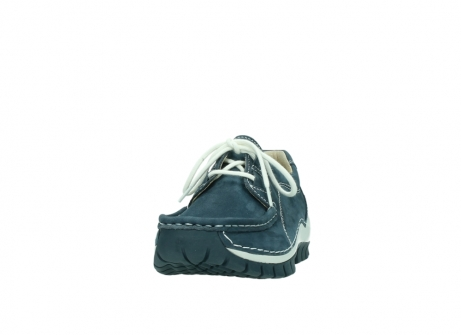 wolky lace up shoes 04705 kick summer 10820 denim blue nubuck_20