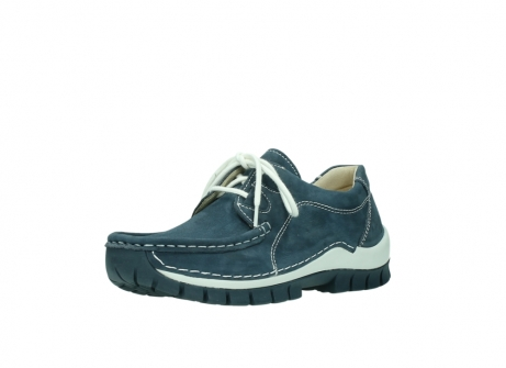 wolky veterschoenen 04705 kick summer 10820 denim blauw nubuck_22