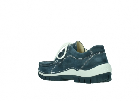wolky veterschoenen 04705 kick summer 10820 denim blauw nubuck_4