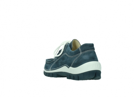 wolky veterschoenen 04705 kick summer 10820 denim blauw nubuck_5