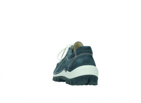 wolky veterschoenen 04705 kick summer 10820 denim blauw nubuck_6