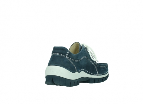 wolky veterschoenen 04705 kick summer 10820 denim blauw nubuck_9