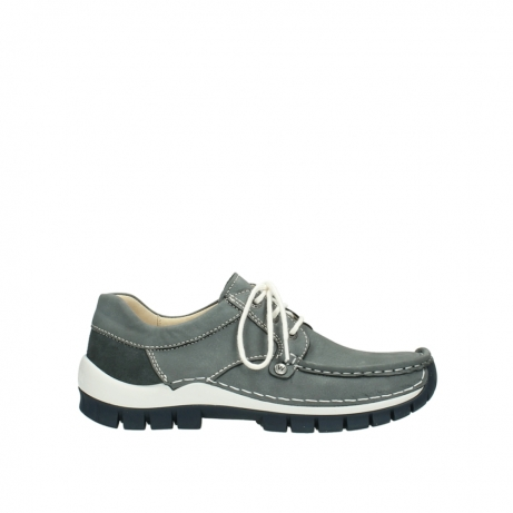 wolky lace up shoes 04708 seamy fly 10200 grey nubuck