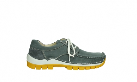wolky lace up shoes 04708 seamy fly 10209 grey nubuck yellow sole_1