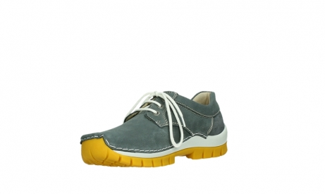 wolky lace up shoes 04708 seamy fly 10209 grey nubuck yellow sole_10