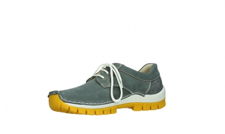 wolky lace up shoes 04708 seamy fly 10209 grey nubuck yellow sole_11
