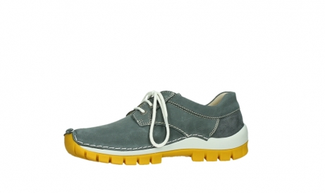 wolky lace up shoes 04708 seamy fly 10209 grey nubuck yellow sole_12