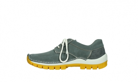 wolky lace up shoes 04708 seamy fly 10209 grey nubuck yellow sole_13