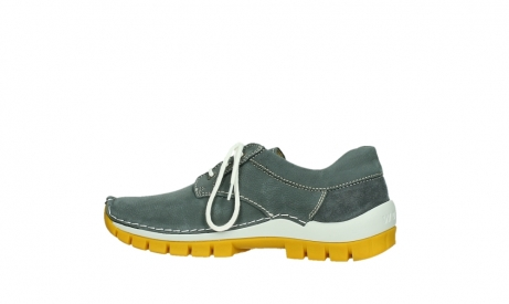 wolky lace up shoes 04708 seamy fly 10209 grey nubuck yellow sole_14
