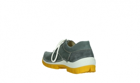 wolky lace up shoes 04708 seamy fly 10209 grey nubuck yellow sole_17