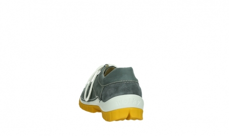 wolky lace up shoes 04708 seamy fly 10209 grey nubuck yellow sole_18