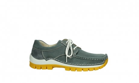 wolky lace up shoes 04708 seamy fly 10209 grey nubuck yellow sole_2