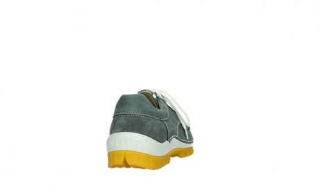 wolky lace up shoes 04708 seamy fly 10209 grey nubuck yellow sole_20