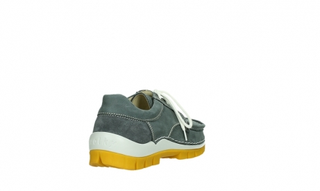 wolky lace up shoes 04708 seamy fly 10209 grey nubuck yellow sole_21