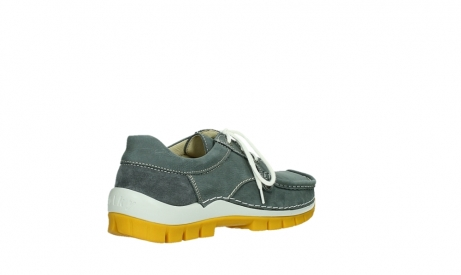 wolky lace up shoes 04708 seamy fly 10209 grey nubuck yellow sole_22