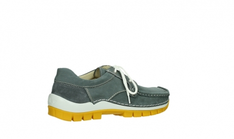wolky lace up shoes 04708 seamy fly 10209 grey nubuck yellow sole_23