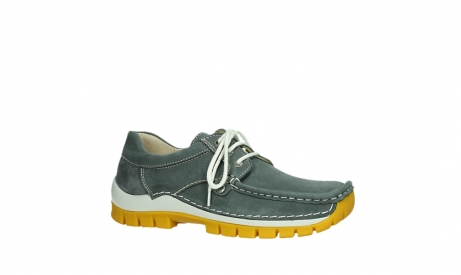 wolky lace up shoes 04708 seamy fly 10209 grey nubuck yellow sole_3