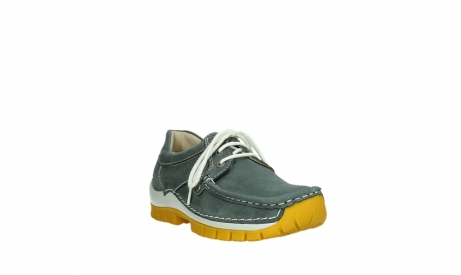 wolky lace up shoes 04708 seamy fly 10209 grey nubuck yellow sole_5
