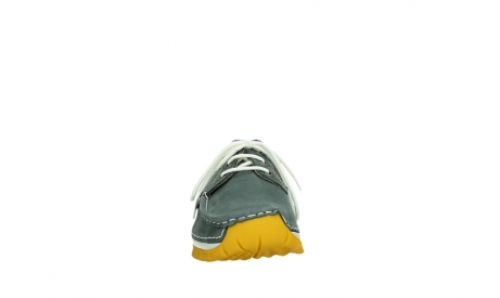 wolky lace up shoes 04708 seamy fly 10209 grey nubuck yellow sole_7