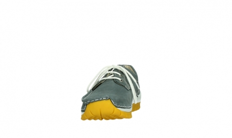 wolky lace up shoes 04708 seamy fly 10209 grey nubuck yellow sole_8