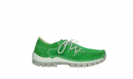 wolky lace up shoes 04710 side 40740 applegreen oiled suede_1