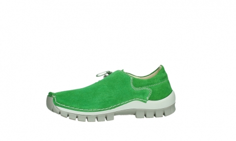 wolky lace up shoes 04710 side 40740 applegreen oiled suede_12