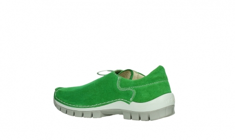 wolky lace up shoes 04710 side 40740 applegreen oiled suede_15