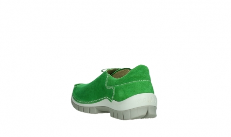 wolky lace up shoes 04710 side 40740 applegreen oiled suede_17