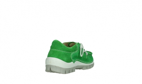 wolky lace up shoes 04710 side 40740 applegreen oiled suede_21