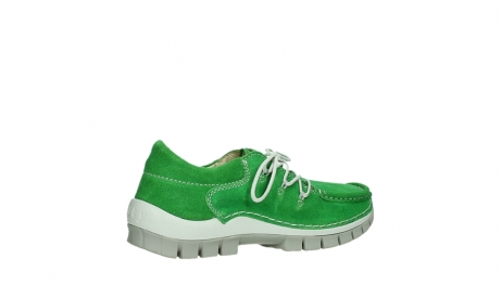 wolky lace up shoes 04710 side 40740 applegreen oiled suede_23