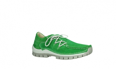 wolky lace up shoes 04710 side 40740 applegreen oiled suede_3