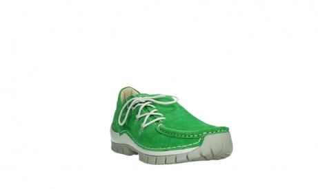 wolky lace up shoes 04710 side 40740 applegreen oiled suede_5