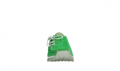 wolky lace up shoes 04710 side 40740 applegreen oiled suede_7