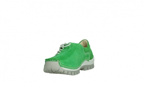 wolky lace up shoes 04710 side 40740 applegreen oiled suede_9