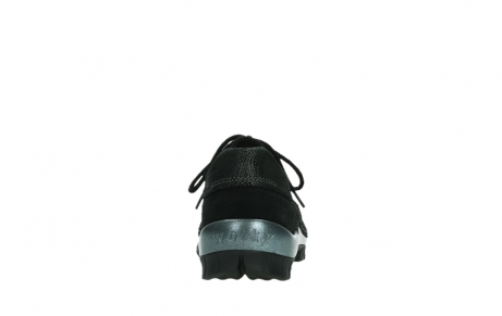 wolky lace up shoes 04726 fly winter 14000 black palmmetal suede_19